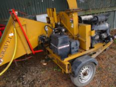 Gravely chipper c/w Lister engine