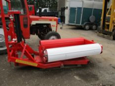 Round bale wrapper, little used