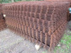 200NO APPROX SHEETS OFCONCRETE REINFORCING MESH 1.2X 2.4METRES