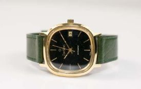 Zodiac Herrenarmbanduhr, Automatic Date, Automatik, Gehäuse Edelstahl, vergoldet, Durchmesser 32 mm,