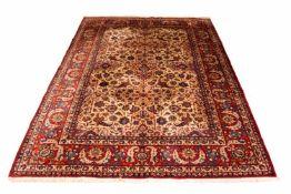 Sarough Persien, Wolle auf Wolle, 348 cm x 240 cm, reinigungsbedürftig