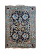 Sarough Persien, Wolle auf Wolle, 314 cm x 193 cm, Fransen ungleichmäßig lang