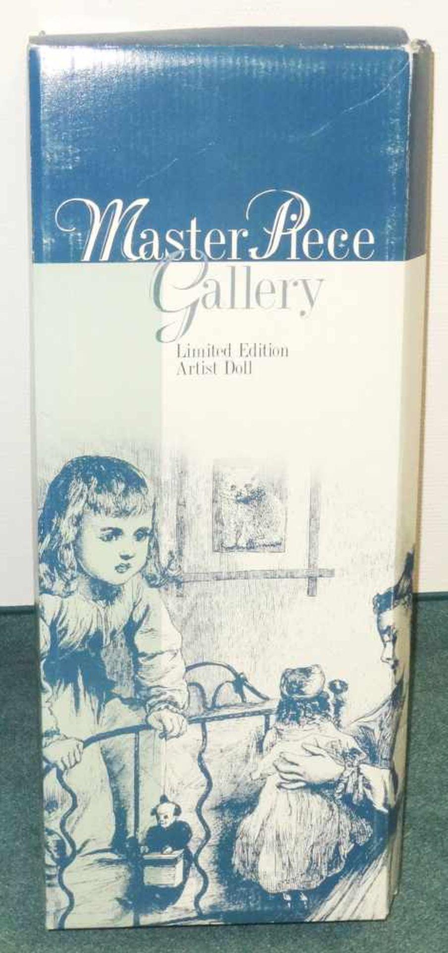 Los 3 - Sammlerpuppe ltd. Edition - Nina- in Freizeitbekleidung mit kleiner Puppe, Artist Doll Linda