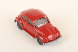 Wiking VW Käfer 1303 rubinrot 30a/6h, neuwertig