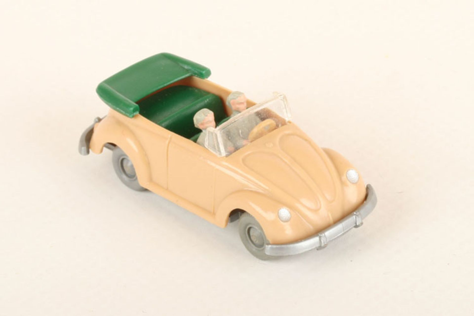 Los 1023 - Wiking VW Käfer Cabrio beige 33/6f, IE grün, neuwertig