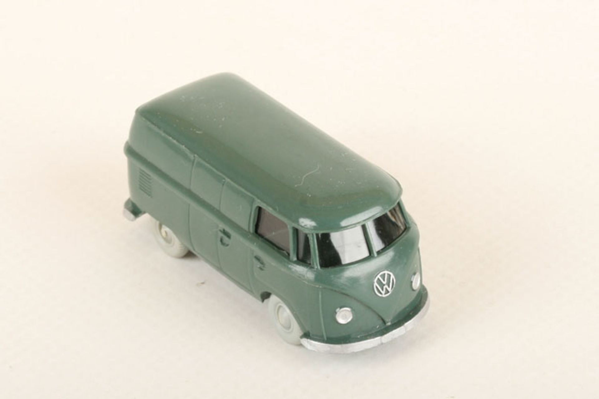 Los 1059 - Wiking VW T1 Kasten graugrün 300/9a, neuwertig