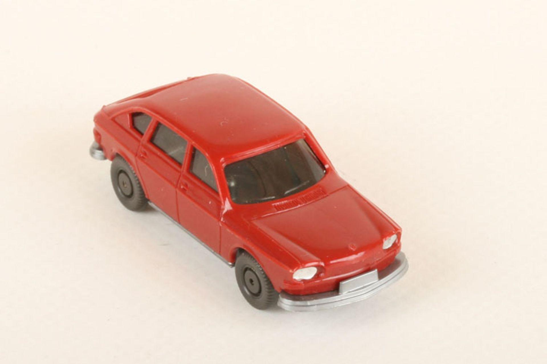 Los 1033 - Wiking VW 411 h'braunrot 46a/1a, Ladegut, neuwertig