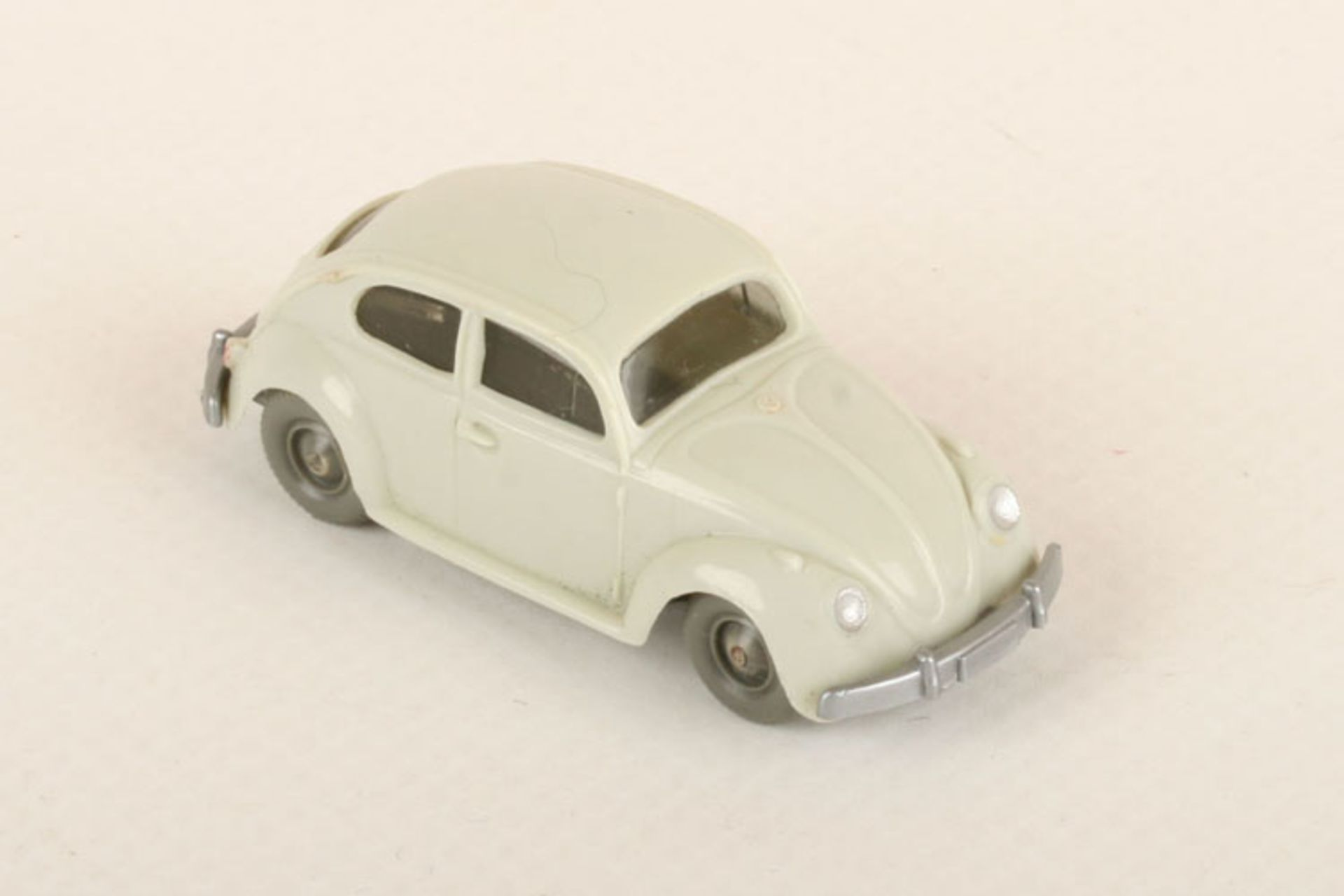 Los 1007 - Wiking VW Käfer 1200 d'-grünlichbeige 30/7h, extrem seltene Farbvariante, leider fehlen die beiden