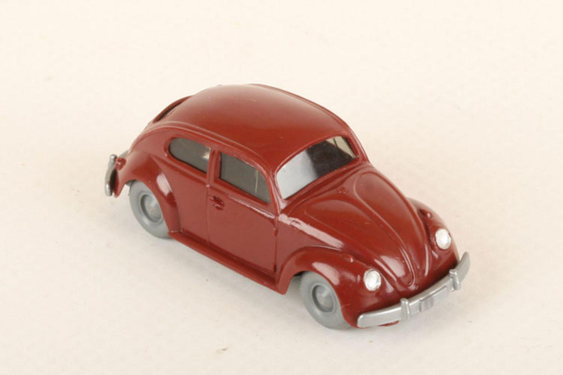 Los 1006 - Wiking VW Käfer 1200 rotbraun 30/8f, neuwertig