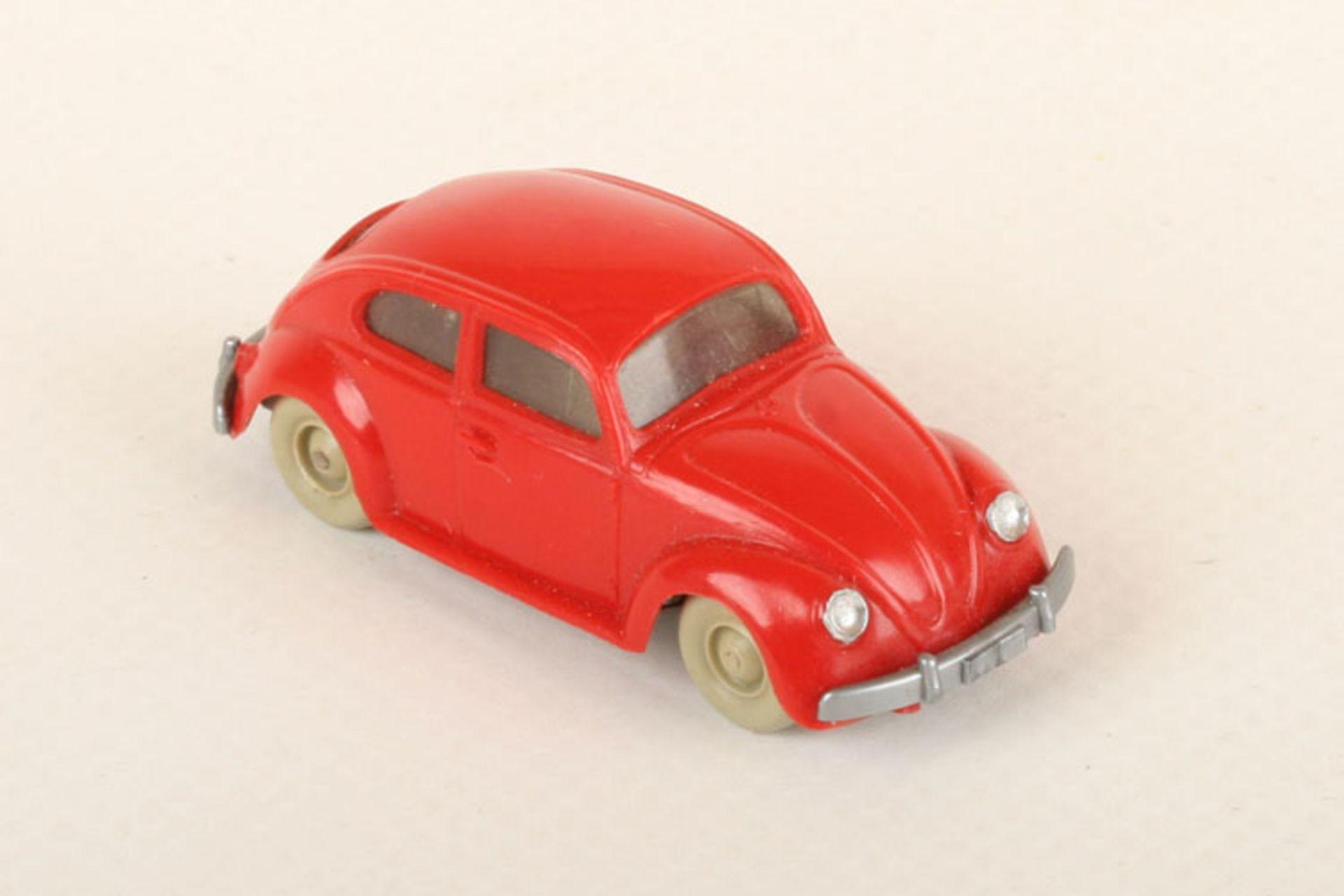 Los 1002 - Wiking VW Käfer Export rot 30/7f, neuwertig
