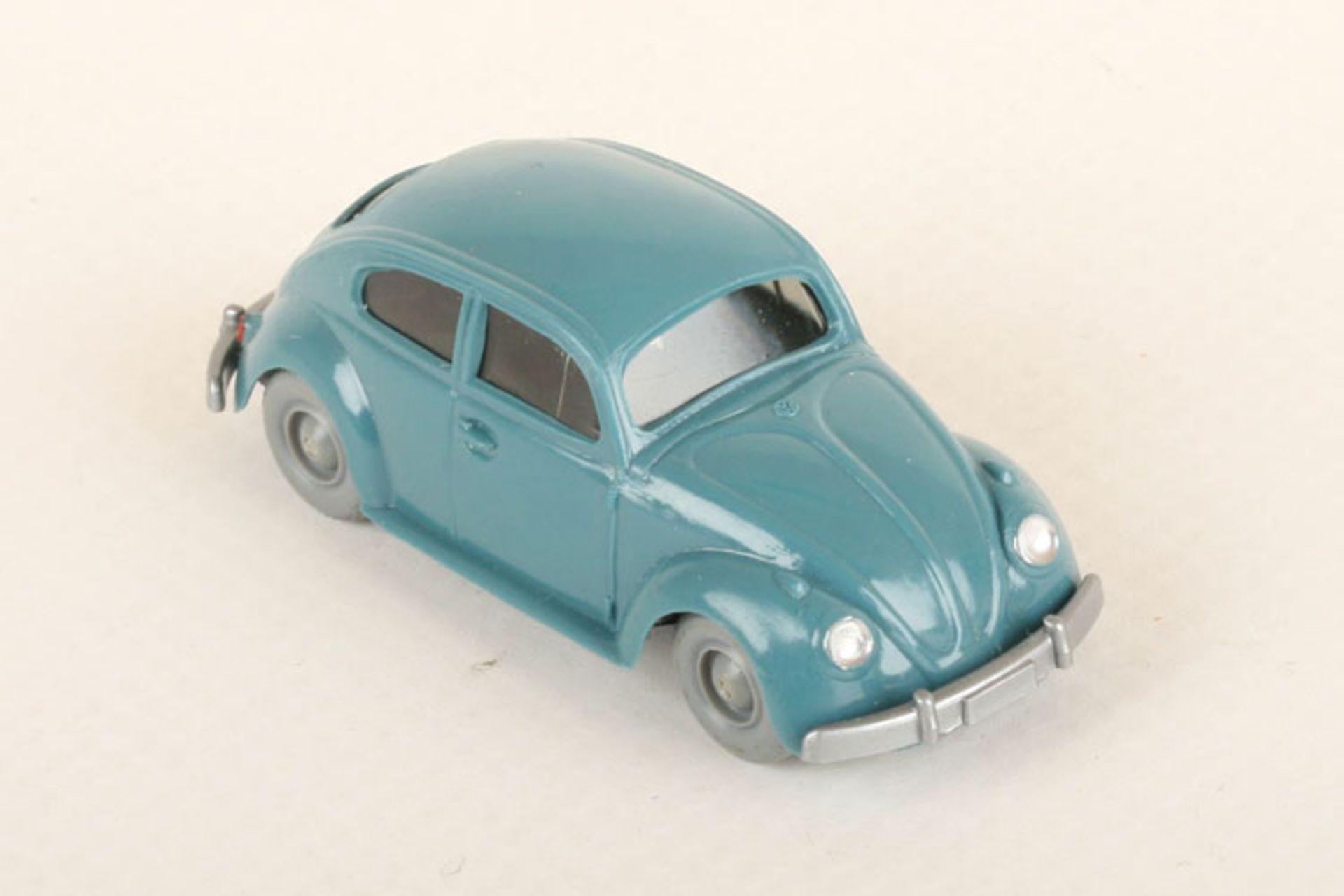 Los 1003 - Wiking VW Käfer Export diamantblau 30/8j, neuwertig