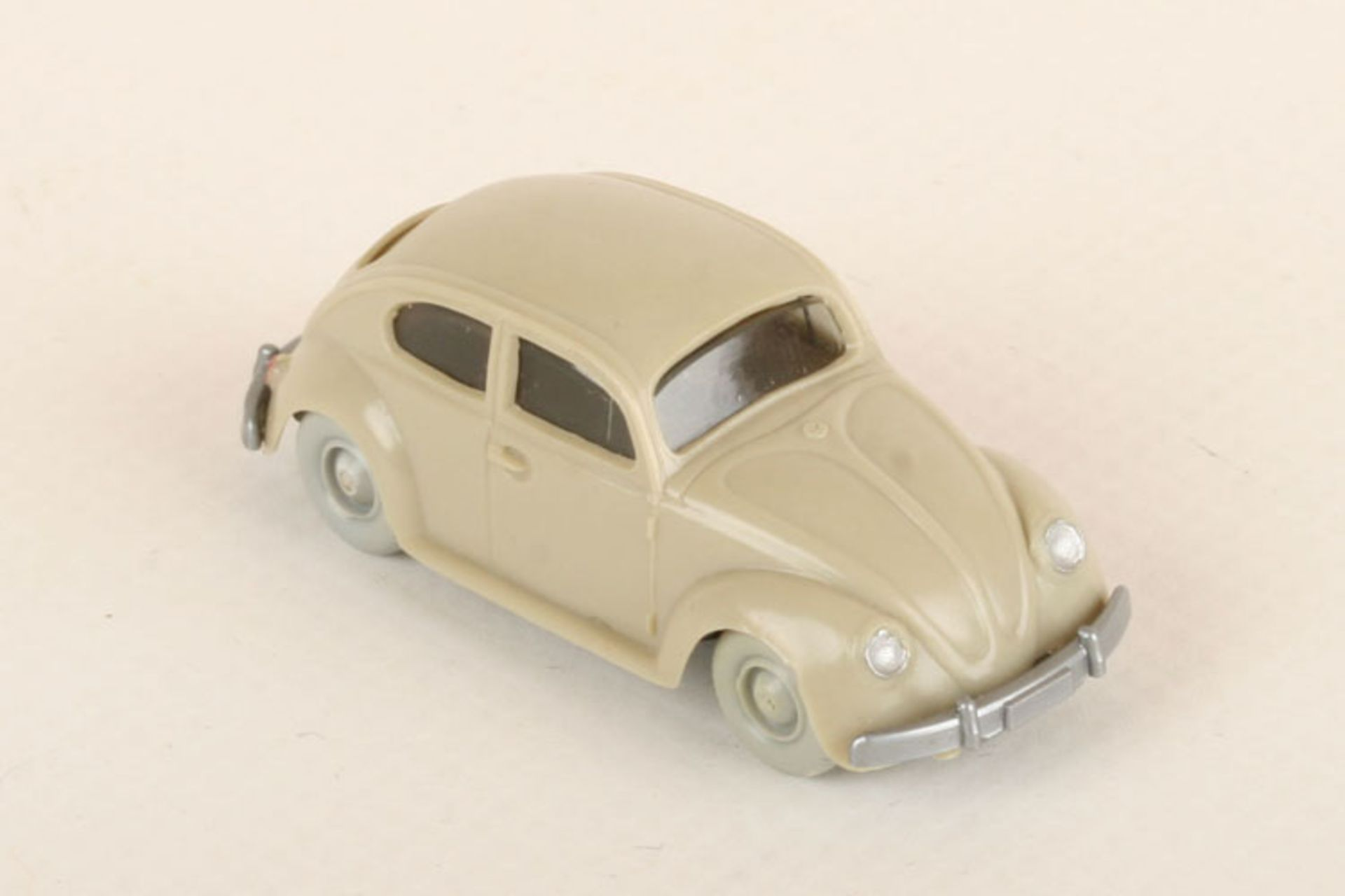 Los 1005 - Wiking VW Käfer Export hellgelbgrau 30/7, extrem seltene Farbvariante, neuwertig