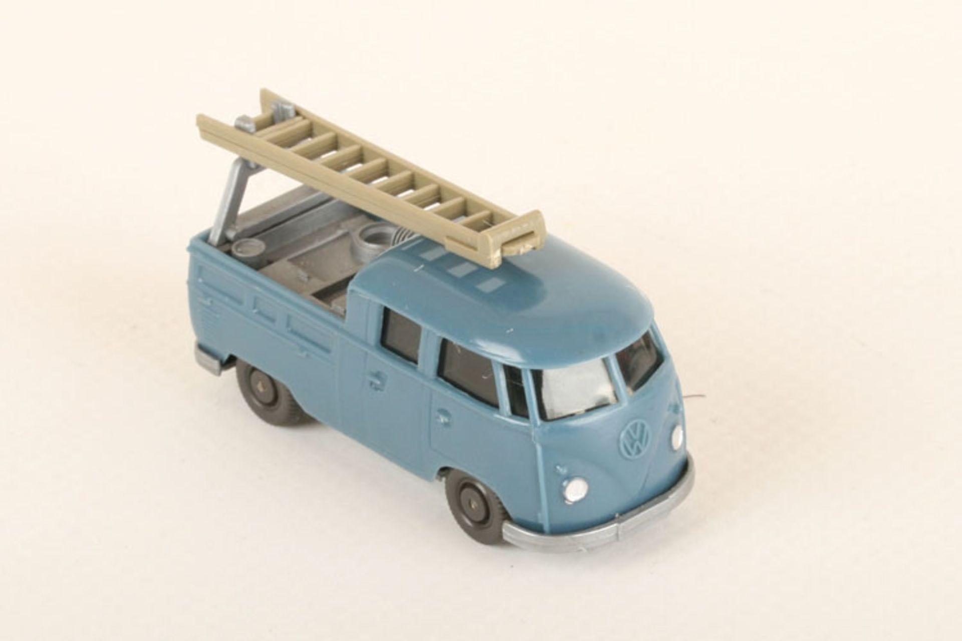 Los 1057 - Wiking VW Montagewagen azurblau 296/1a, neuwertig