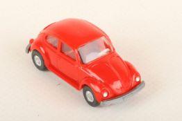 Wiking VW Käfer 1303 orangerot 30/13f, neuwertig