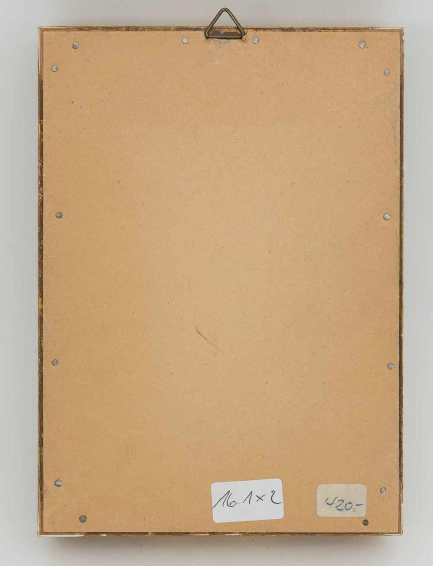 Los 21 - INDISCHE MINIATURMALEREI, Tempera auf Bein, Indien, 20.Jahrhundert Beschreibung Mehrfarbig