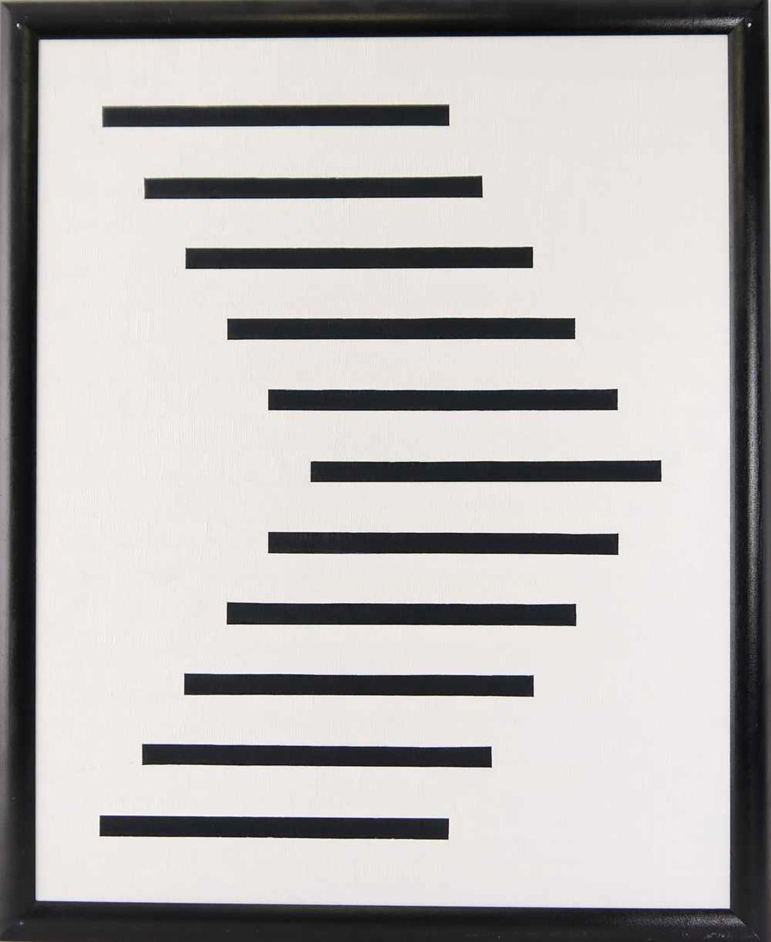 """Los 47 - KERKMAN WILLEM. Tastatur II-schwarz, Acryl auf dicker Malpappe, signiert und datiert. """"Tastatur II-"""