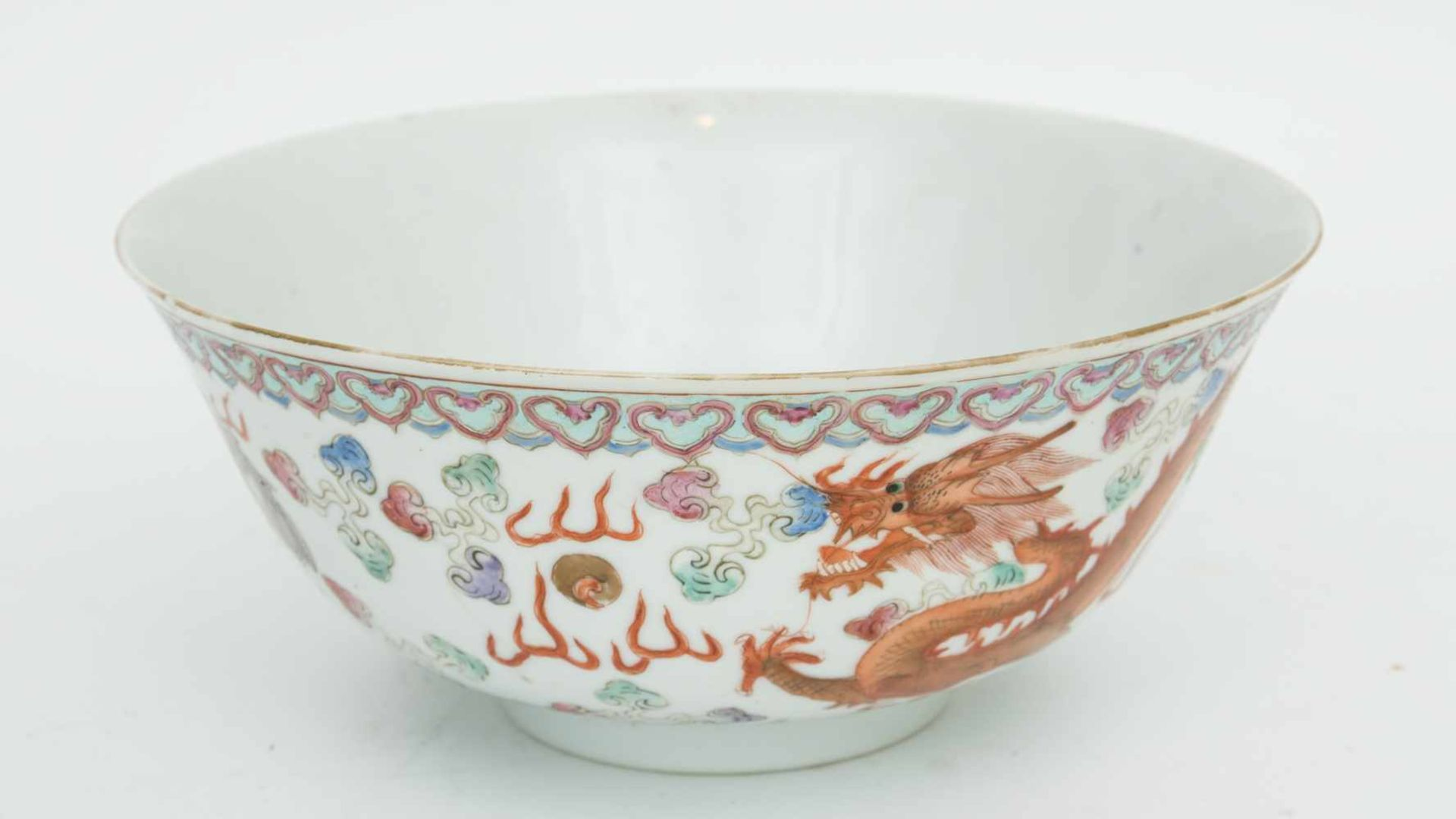 Los 2 - PORZELLANSCHÄLCHEN, Republic of China, Hongxian (1915-1916) Schälchen aus Porzellan,dekoriert mit