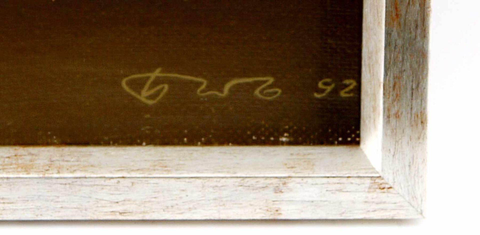 Los 43 - BEZUGLOV VOLODIMIR. 04.01.92, signiert und datiert. Öl auf Leinwand, signiert und datiert rechts