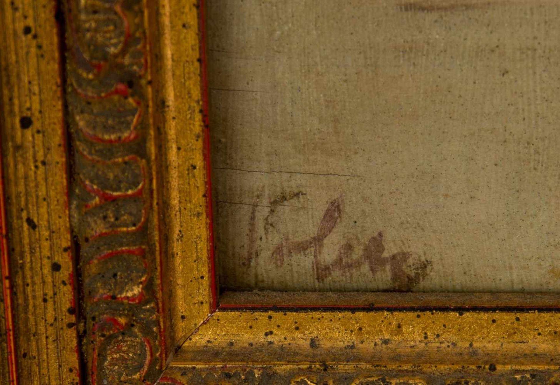 Los 27 - In der Lagune von Venedig, Öl auf Leinwand, gerahmt und signiert, 20. Jahrhundert. Darstellung einer