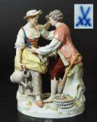 Figurengruppe. Figurengruppe. MEISSEN 20. Jahrhundert, 1. Wahl. Modell von Michel Victor Acier.