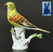Tierfigur MEISSEN. Tierfigur MEISSEN 20. Jahrhundert. 1. Wahl. Modell Nummer 77048. Vogel auf