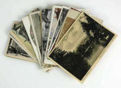 Konvolut Postkarten (1.H.20.Jh.) 35 Stück; Künstlerkarten und Ansichtskarten; Deutschland gemischt