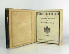 Intelligenzblatt der königlichen Regierung von Oberbayern 1842, München; guter Zustand