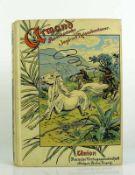 Amerikanische Jagd- und Reiseabenteuer von Armand; ca. 1930; mit einem farbigem Titelbild und 16