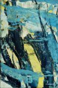 ALEX KLEIN (1960 WIEN) WINDIG, 2003 Öl auf Stoff, 87,5 x 57,5 cm Signatur vorne rechts unten: