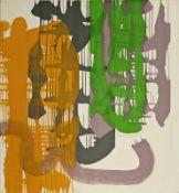 THOMAS REINHOLD (1953 WIEN) ARIADNE, 2007 Öl auf Leinwand, 151 x 141 cm Signatur Rückseite: