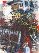 DAVID R. SMYTH (1943 WASHINGTON) o.T., 1998 Mischtechnik auf Papier, 75 x 56 cm gerahmt, Maß mit
