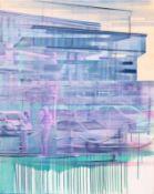 EVA WAGNER (1967 SALZBURG) RUSH, 2013 Gouache, Acryl auf Leinwand, 120 x 100 cm Signatur