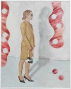 MARTIN PRASKA (1963 WIESLOCH) VENEZIA (HANDBAG), 2006 Öl auf Hartfaserplatte, 30 x 24 cm Signatur