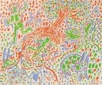 OTTO MUEHL (1925 GRODNAU - 2013 MONCARAPACHO) o. T., 1985 Acryl auf Leinwand, 150 x 180 cm