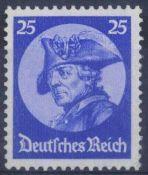 III. Reich 1933, 25 Pfennig Friedrich der GroßeMichelnummer 481, postfrisch Luxus, Katalogwert 320,-