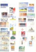 BUND 2001-2008 postfrische NOMINALE mit 365,- EUROaus oben genannten Jahren im Steckbuch.