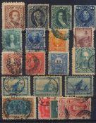 ARGENTINIEN, klassische Marken ab 1867gesamt 20 Stück in unterschiedlicher Erhaltung!!Besichtigen!