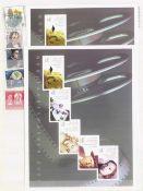 BUND postfrische NOMINALE mit 140,- EUROim Steckbuch, dabei viele SELBSTKLEBENDE