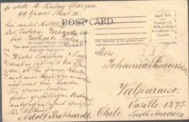 MOTIV Musik - RUTHARDT - und Postgeschichte / PostkartenORIGINAL Unterschrift von ADOLF RUTHARDT. Er
