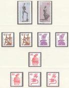 BUND 1970-1991, komplette postfrische Sammlung,KW 800 Euroim SAFE - Dual Falzlosvordruck mit 3