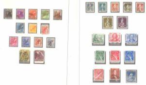 BERLIN 1949-1990, komplett gestempelte Sammlungin den Michel - Hauptnummern komplett in 2 SAFE Alben