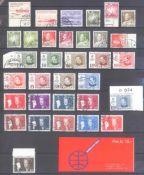 GRÖNLAND 1963-1989sauber gestempelte Partie mit Marken und 20 Bedarfsbriefenauf Steckseiten.