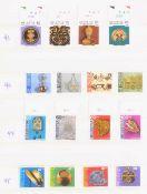 SCHWEIZ 1971-95 PRO JUVENTUTE/PATRIA, NOMINALE: 109 SFrdie kompletten postfrischen Sätze der
