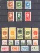 CHINA 1949-1962saubere Sammlung auf Steckseiten, im Anhang nochNordostchins / Ostchina