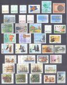 ALAND 1984-1995, komplette postfrische Sammlungauf Steckseiten, es fehlen die Michelnummern, 57-