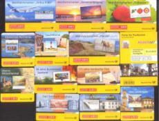 2006-2010 Bund, MARKENHEFTCHEN, 81,- Euro NOMINALELot von 13 verschiedenen, POSTFRISCHEN