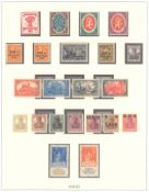DEUTSCHES REICH INFLATIONSZEIT 1916-1923saubere postfrische Sammlung auf LINDNERT-Falzlosvordrucken,