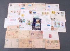 UNGARN, BELEGEPOSTEN 1891-1987, dabei SiebenbürgenInteressanter Posten mit Bedarfs- und