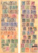 FRANKENTHALER NACHLASSuriger Nachlass mit Briefmarken und Belegen. Dabei DeutschesReich, altes
