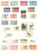 EURROPA CEPT mit SPANISCH - ANDORRA 1972saubere gestempelte Sammlung auf Steckseiten mit CEPT,